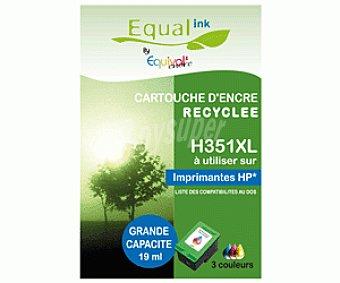 Equalink Cartuchos Reciclados de Tinta H351XL Tricolor 1u