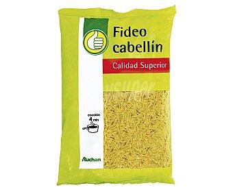 Productos Económicos Alcampo Fideos cabellines, pasta de sémola de trigo duro de calidad superior 1 kilogramo