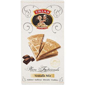 TRIAS Ventalls Mix Barquillos en forma de triangulo caja 150 g Caja 150 g