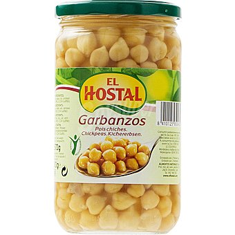 El Hostal Garbanzos cocidos 400 g