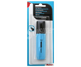Auchan Marcador Fluorescente Color Azul 1 Unidad