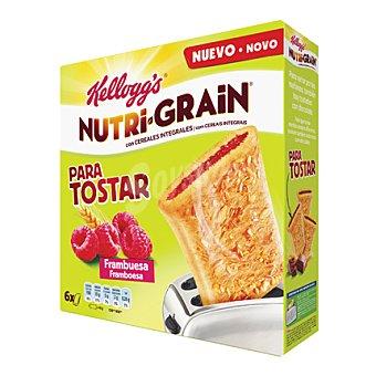 Kellogg's Barrita de cereales con frambuesa para tostar 240 g