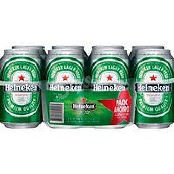 Heineken Cerveza pack 8x0.33L
