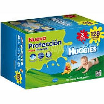 Huggies Pañal Talla 3 Paquete 128 unid