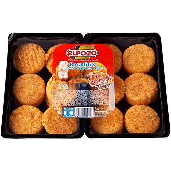 ElPozo Bocaditos de jamón cocido y queso 12 unidades Bandeja 320 g