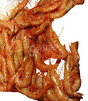 VARIOS Gamba fresca roja mediana granel 250 g peso aprox.