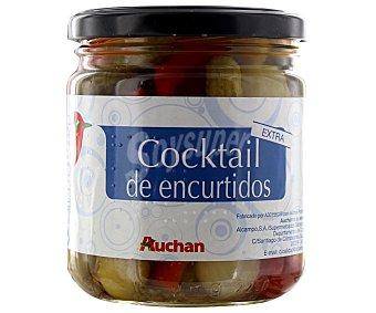 Auchan Cocktail de encurtidos extra 190 gramos