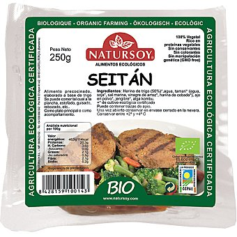 Natursoy Seitán fresco 100% vegetal Envase 250 g