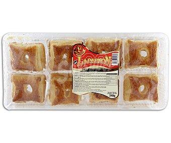 LAPASION Hojaldres de miel 8 unidades 240 gramos