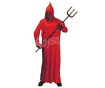 WIDMANN Disfraz infantil Diablo túnica roja, talla 8-10 años Diablo 8-10 años