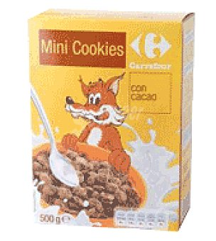 Carrefour Cereales mini cookies con pepitas de cacao 500 g