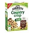 Country Crisp Bio cereales de desayuno ecológicos con pepitas de chocolate negro y sin aceite de palma Paquete 400 g Jordans