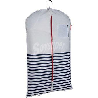 COMPACTOR Funda Para traje en color blanco y marino