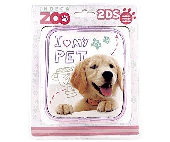 Indeca Funda de transporte Zoo para Nintendo 2Ds,