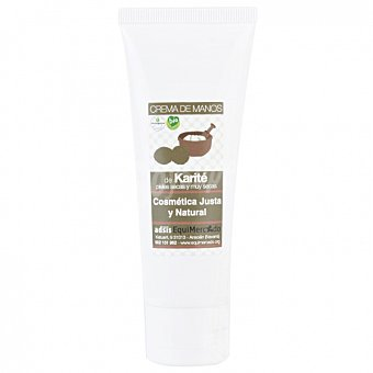 Equimercado Crema de manos de Karité (reparadora) ecológico 75 ml 75 ml