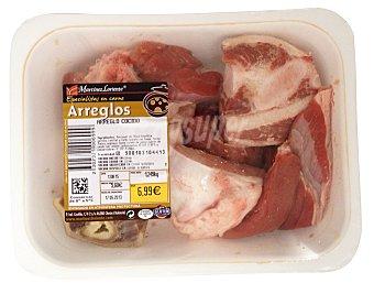 Martinez Loriente Arreglo cocido fresco (costilla ternera, pollo, ternera, tocino, magro cerdo) Bandeja 1 kg