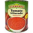 tomate al natural triturado tamizado lata 390 g Conservas Diamante