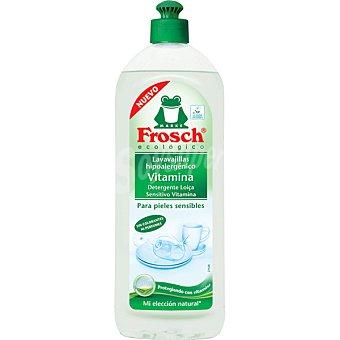 Froggy Lavavajillas a mano concentrado hipoalergénico dermosensitivo ecológico Botella 750 ml