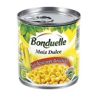 Bonduelle Maíz dulce en grano Pack 3 latas x 140 g (peso neto escurrido)
