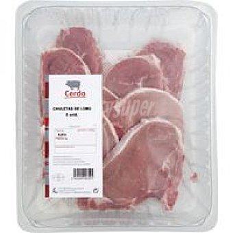 Chuleta de lomo de cerdo 500 g