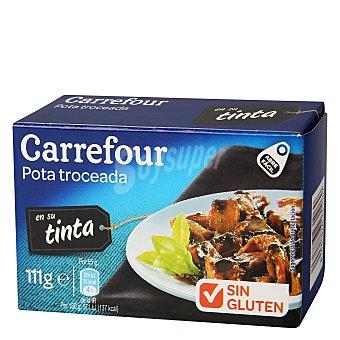 Carrefour Pota troceada en su tinta 72 g