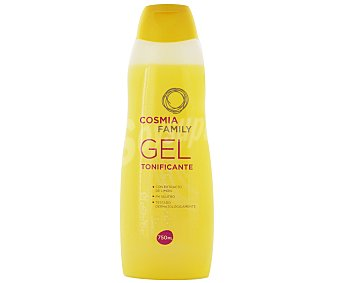 COSMIA FAMILY Gel tonificante con extracto de limón y PH neutro para la piel 750 ml