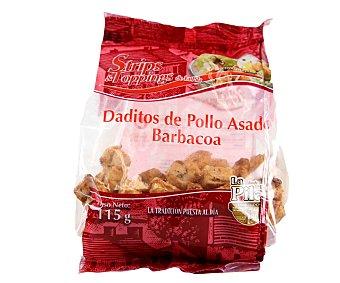 LA PILA Daditos de pollo barbacoa 115 Gramos