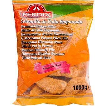 PERDIX Solomillo de pollo empanado congelado Bolsa 1 kg