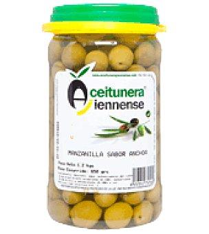 Aceitunera Jiennense Aceituna manzanilla sabor anchoa 650 g