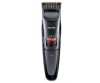 PHILIPS QT4015/16 Barbero Titanio, uso sin cable, 20 posiciones de longitud, autonomía 90 minutos