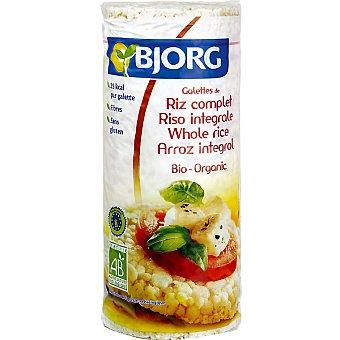 BJORG tortitas de arroz integral  envase 130 g