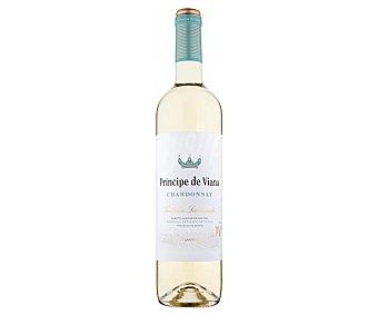 Principe de Viana Vino blanco con denominación de origen Navarra vendimia seleccionada Botella de 75 cl