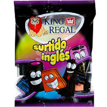King Regal Regaliz surtido ingles Bolsa 100 g