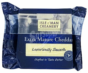 ISLE OF MAN Queso Cheddar Extra Madure 200 gramos