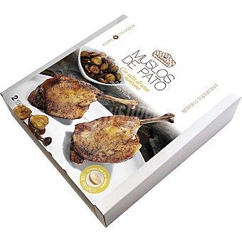 MALVASIA Muslos de pato con salsa de setas y manzana Envase 1450 g