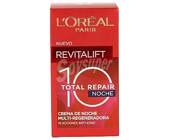 L'Oréal Crema antiedad noche total repair 10 Revitalift de 50 mililitros