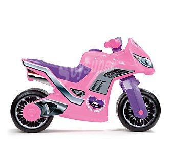 MOLTO Correpasillos Modelo Moto Cross Premium Niña de Color Rosa 1 Unidad