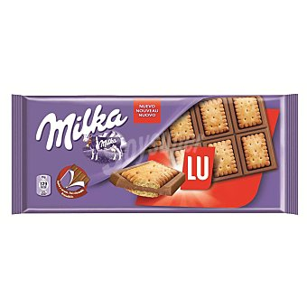 Milka Tableta chocolate con galleta Lu 87 g