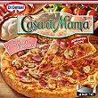 Pizza de jamón y champiñones 380 gr Casa di Mama Dr. Oetker