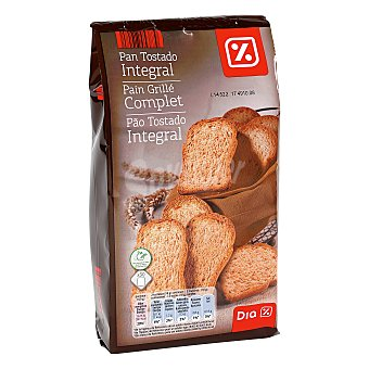DIA pan tostado integral Paquete 270 grs
