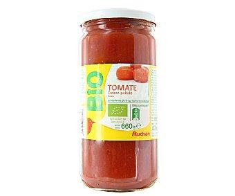 Auchan Tomate entero pelado al natural ecológico Tarro de 400 gramos
