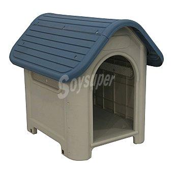 Caseta perro pequeña medidas 59x75x66 cm 1 unidad