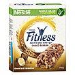 Barritas de cereales con chocolate y plátano Fitness Pack de 6 unidades de 23,5 g Fitness Nestlé