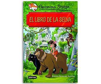JUVENIL Gerónimo Stilton: El libro de la selva, gerónimo stilton, género: infantil , editorial: Destino. Descuento ya incluido en pvp. PVP anterior: