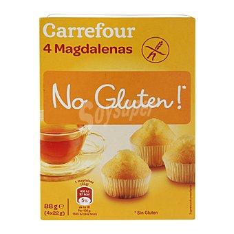 Carrefour-No gluten Magdalenas - Sin Gluten 88 g