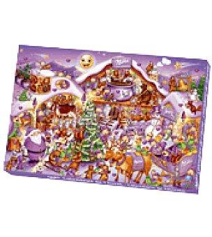 Milka Calendario de adviento relleno de chocolatinas 1 ud