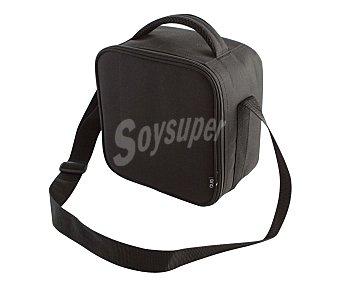 QUID Bolsa porta alimentos color negro más 2 recipientes herméticos de plástico 1 Unidad
