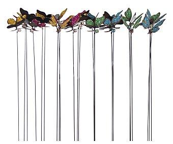 PROFILINE Pincho decorativo de jardín con formas de mariposas de 58 centímetros 1 unidad