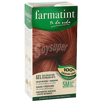 Farmatint Tinte Castaño claro caoba Nº 5M caja 1 ud Caja 1 ud