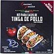 Kit para tacos de Tinga de pollo 540 g Gourmet Passion